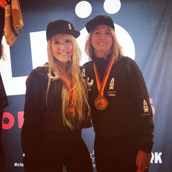 Isabella Hedberg och Helen Vikmar